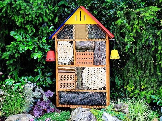 insektenhotel wir haben anhand ihrer bauanleitung ein. Black Bedroom Furniture Sets. Home Design Ideas